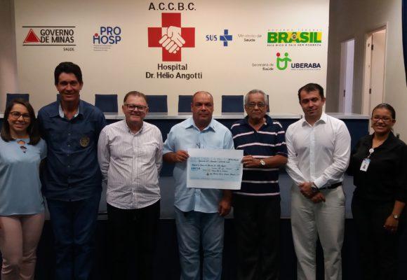 Representantes de Fronteira entregam resultado do Leilão Salve Vidas