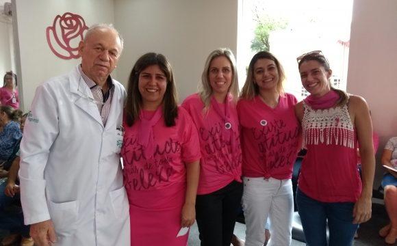 Atividades do Outubro Rosa no Hélio Angotti