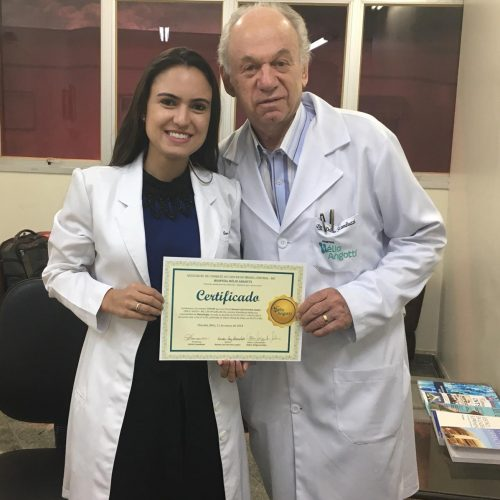 Hélio Angotti faz Entrega do Primeiro Certificado