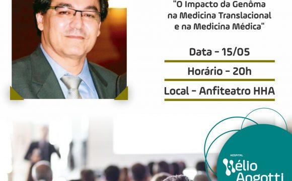 Renomado Professor da USP dá Palestra no Hélio Angotti
