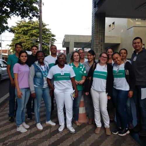 Colaboradores do Hélio Angotti Participam de  Ação na Doação de Sangue