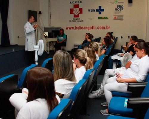 Hélio Angotti faz campanha de prevenção ao câncer em fevereiro
