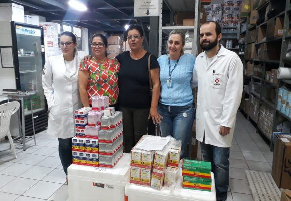 Vencer Entrega Medicamentos ao Hélio Angotti