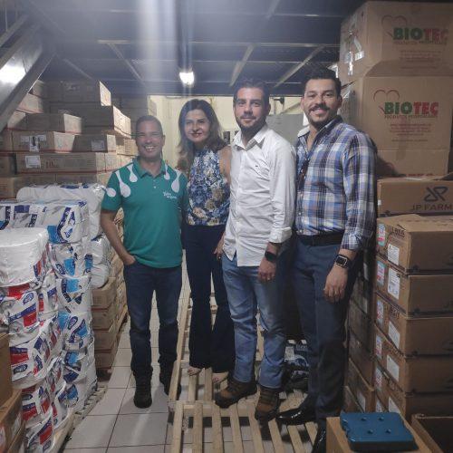 Cohagra Entrega Doação ao Hélio Angotti