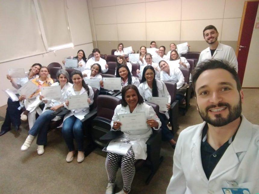 Equipe do Hélio Angotti Realiza Especialização em Mamografia
