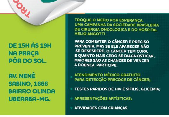 Helio Angotti Participa de Campanha Nacional de Combate ao Câncer