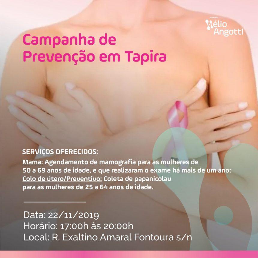 Campanha de Prevenção em Tapira