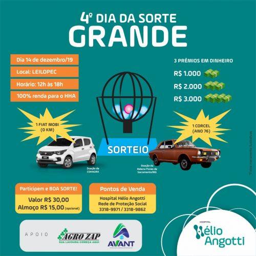 Vem aí mais um grande evento em prol Do Hospital Hélio Angotti