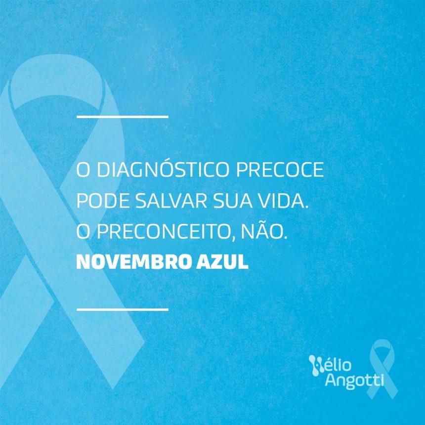 Agendamento e Atendimento – Novembro Azul