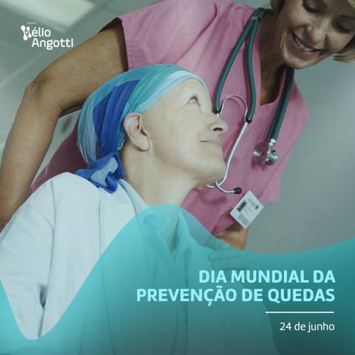 RISCO DE QUEDA É GRAVE PROBLEMA DE SAÚDE