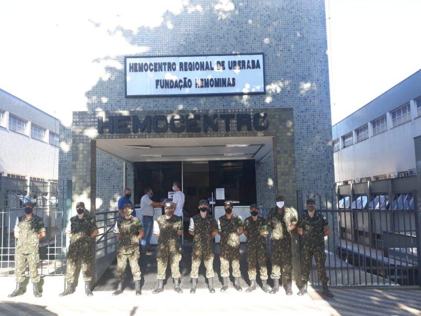 DOAÇÃO DE SANGUE PARA O HOSPITAL HÉLIO ANGOTTI