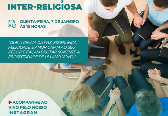 HÉLIO ANGOTTI PROMOVE CELEBRAÇÃO INTER-RELIGIOSA COM TRANSMISSÃO AO VIVO